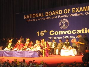 Convocation, National Board, New delhi feb 2009|Dr. Ajay Kothari|Shivaji Nagar,Pune