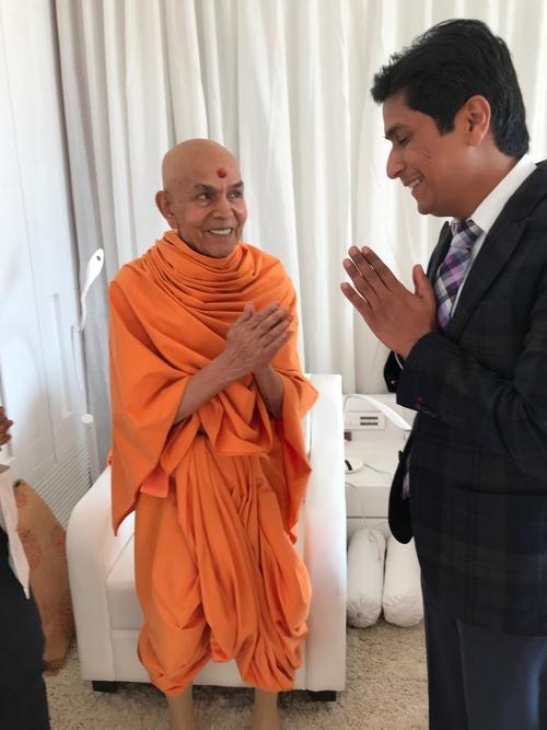ParamPujya Mahant Swami Maharaj|Dr. Ajay Kothari|Shivaji Nagar,Pune