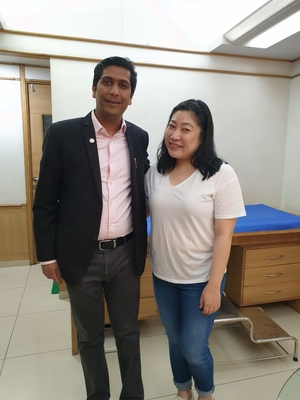 International Patient from Dubai treated Non Surgically